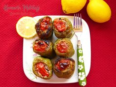 zeytinyağlı biber dolması - kevserin mutfağı