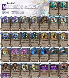 #Hearthstone Murloc Mage   S23