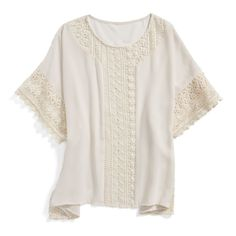 This Embroidered Blouse from Stitch Fix is so cute and looks so comfy too!