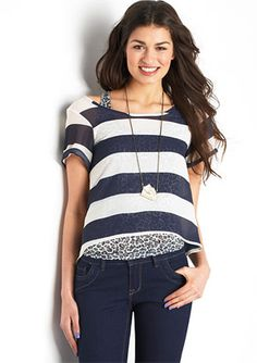 more stripey love. (do I shop at Delia's again?! how old am I?!)