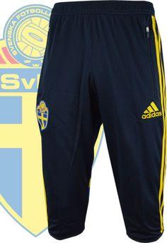 スウェーデン代表14/15シーズン オフィシャルウェア。 選手やチームスタッフが練習などで着用するトレーニングパンツ。
