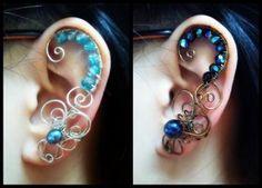 Commission Ear Cuffs by *sodacrush on deviantART