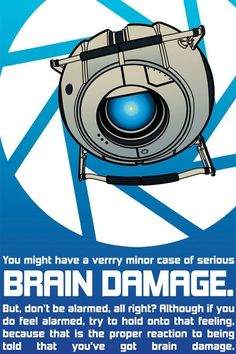 You may be suffering from savear brain damage.