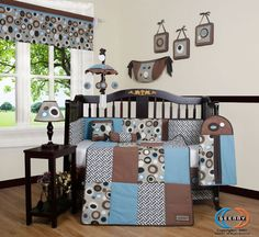 nice Child Boutique Blue Brown Scribble Boy 13PCS Nursery CRIB BEDDING SET Check more at https://aeoffers.com/product/baby-toys-and-games-clothing-shoes/child-boutique-blue-brown-scribble-boy-13pcs-nursery-crib-bedding-set/