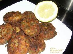 cretangastronomy.gr - Κολοκυθοκεφτέδες (VIDEO) Cypriot Food, Greek Cooking, Fish Dishes, Dessert Recipes, Desserts, Greek Recipes, Tandoori Chicken, Poultry, Dairy Free