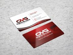 Create the next business card for CMG Digital Studios, LLC by seVensky*