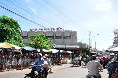 Phan Thiet Central Market, Vietnam