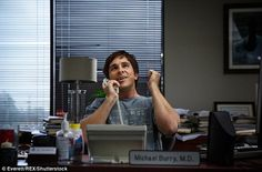Christian Bale and Brad Pitt in the same movie...meh, who cares what it's about! - Christian Bale, whose captivating, tic-laden performance in The Big Short - which looks at the 2008 financial meltdown - has bagged him an Oscar nomination as Best Actor In A Supporting Role