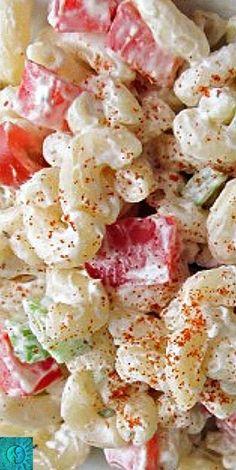 Macaroni Salad - cool, creamy, satisfying!