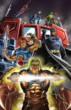 Comics by animeaful on DeviantArt Best 90s Cartoons, Old School Cartoons, Classic Cartoons, Comic Book Characters, Comic Character, Gi Joe, Cartoon Crossovers, Caricatures, Comic Art