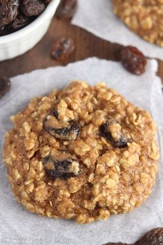 The Ultimate Healthy Soft and Chewy Oatmeal Raisin Cookies