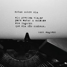 Todos precisam de um tempo de solidão. instagram @zackmagiezi facebook.com/estranherismo.