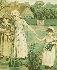 Kate Greenaway art