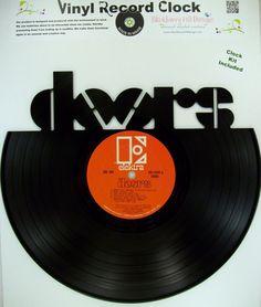 Vinyl Record DOORS Wall Art & Records Redone | More Vinyl record art Record art and Bob dylan ideas Pezcame.Com