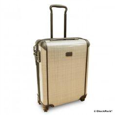 Wer reist nicht gerne elegant? TUMI Tegra Lite Internationales Schmales Handgepäck, Trolley mit 4 Rollen | ChackPack.com