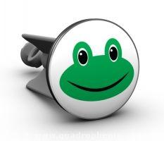 Ihr sucht das besondere für Euer Bad? Das gewisse etwas? Plopp Motiv Stöpsel geben Eurem Bad einen besonderen Blickpunkt. Einfach alten Stöpsel gegen neuen plopp austauschen und fertig ist der Nass-Spaß fürs Bad! Hier mit Froggy - das fröhliche Froschgesicht in Eurem Waschbecken...