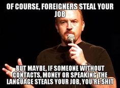 Louis CK only speaks the truth. I think he should start carrying a sitar.