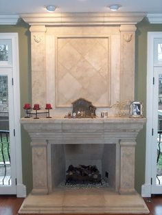 Fireplaces - - family room - other metro - by Greenside Design Build LLC