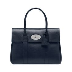 Mulberry - Bayswater in Midnight Blue Shiny Goat...sometimes you need a bigger bag!