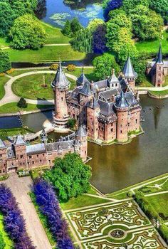 Castle De Haar in Utrecht, The Netherlands