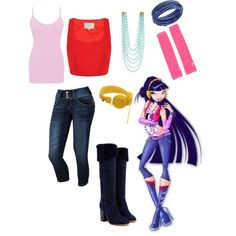 Winx Club: Musa Season 5 Casual Outfit