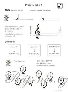 vozar hudební výchova pracovní listy - Hledat Googlem
