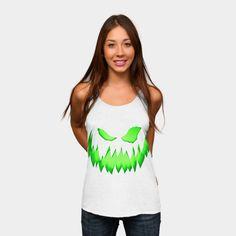 Undead pumpkin Tank Top  Undead pumpkin @designbyhumans by goljakoff https://www.designbyhumans.com/shop/t-shirt/undead-pumpkin/776848    #cloth #clothing #tshirt #sale #buy #custom #style #fashion #design #art #illustration #tee #dbh #halloween#zombie #dead#vintage #grunge #cool #scary #pumpkin #ghost #green #light #undead