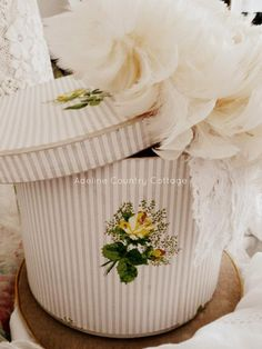 Beautiful Hat Box