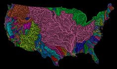 El mundo como nunca antes lo habías visto: a través de sus flipantes cuencas hidrográficas:http://lasmejoresnoticias.ga/422