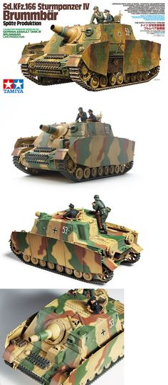 Land 2589: Tamiya 35353 1 35 Model Kit Wwii German Sd.Kfz.166 Assault Tank Iv Brummbar Late -> BUY IT NOW ONLY: $35.9 on eBay!