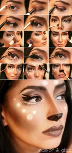 Halloween makeup tutorial is what everyone needs when the holiday is coming nearer with every hour. Have you picked your favorite look?
