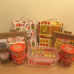 Wonderful back to school Ore lunch box and snack packs for your little ones❤️