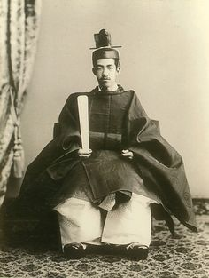 "The Taisyo Emperor Yoshihito. (It is not right to actually call ""Emperor"". The right name of Japanese Emperor is ""Tennou"" or "" Tennou-Heika"". Japanese History, Asian History, Japanese Culture, Nagoya, Osaka, Sapporo, Vintage Japanese, Japanese Art, Vintage Photographs"