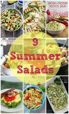 Weekend Bites Summer Salads