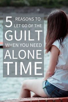 This is one of those common introvert problems. You need time to recharge, but you end up feeling guilty for being an introvert and having to say no to loved ones. Check out this article for 5 reasons to stop feeling guilty.