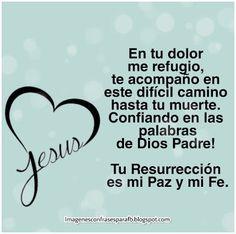 Jesús en ti confio - Dios Padre en ti confio Home Decor, Divine Mercy, Spirit Quotes, Pretty Images, Words, Father, Decoration Home, Room Decor, Interior Design