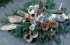 wszystkich swietych - Google Search Christmas 2019, Christmas Wreaths, Xmas, Christmas Arrangements, Floral Arrangements, Cemetery Decorations, Table Decorations, All Souls Day, Funeral Memorial