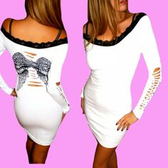 Angel Fashion Dresses Ebay angel wing dress