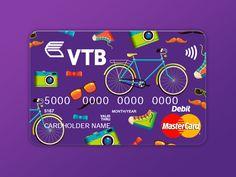 Credit card concept for VTB Bank