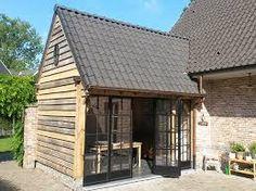 Afbeeldingsresultaat voor houten bijgebouwen