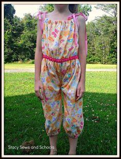 Pajama Romper Tutorial
