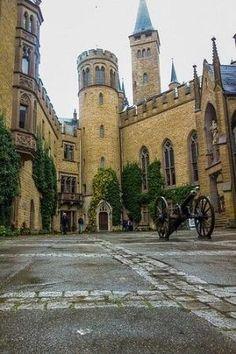 Hohenzollern castle - Germany by Eva0707
