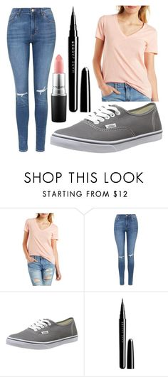 """""""Untitled #1322"""" by perbhaatkhowaja on Polyvore featuring Charlotte Russe, Topshop, Vans, Marc Jacobs, MAC Cosmetics, women's clothing, women, female, woman and misses"""