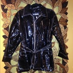 Totes Black Rain Jacket