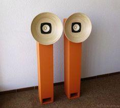 Fostex als TQWT in terracotta Diy Bluetooth Speaker, Diy Speakers, Bookshelf Speakers, Stereo Speakers, Open Baffle Speakers, Horn Speakers, Audiophile Speakers, Hifi Audio, Speaker Box Design