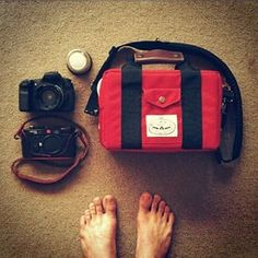 A camera bag that doubles up as a drinks cooler?? Now that's the perfect accessory for an adventure!