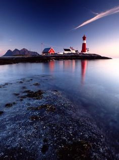 Tranøy Lighthouse, Nordland, #Norway ☮k☮ #Norge