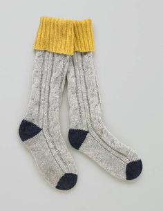 I like socks, but, I LOVE cute socks. particularly if they have a touch of the mustard!