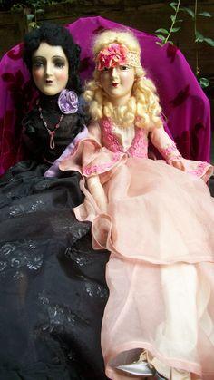 Refurbish happy Anita boudoir dolls made by me