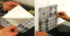 Smart Tiles : Ça Vaut le Coup ? Notre Avis & Test de la Crédence Adhésive Smart Tiles, Credence Adhesive, True Test, Adhesive Tiles, Decoration, Credenza, Diy, Cement Tiles, Boutiques